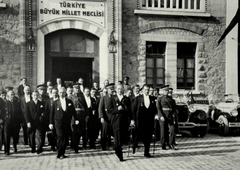 13 Ekim 2020 Ankara'nın Başkent ilân edilmesinin 97'nci yıl dönümü.