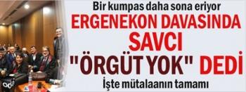 Ergenekon Kumpas Davasında  Savcı mütalaasını açıkladı.