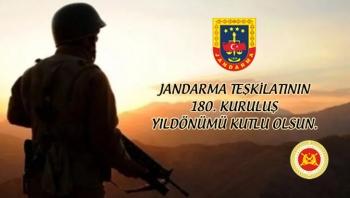 Jandarma Teşkilatının 180. Kuruluş Yıldönümü
