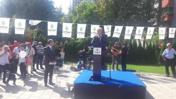 30 Ağustos Zafer Bayramı kutlamalarında E. Alb. Hüsnü Şimşek bir konuşma yapmıştır.