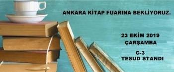 Ankara Kitap Fuarı İmza Etkinliği - 23 Ekim 2019 Çarşamba