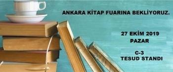 Ankara Kitap Fuarı İmza Etkinliği - 27 Ekim 2019 Pazar
