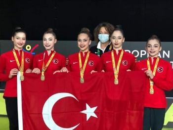 Ritmik Cimnastik Grup Milli Takımımız Avrupa Şampiyonu oldu